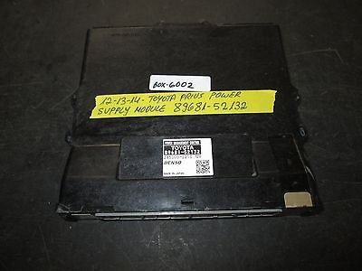 ** 12 13 14 TOYOTA PRIUS POWER SUPPLY MODULE #89681-52132 *see item*(BOX-6002)