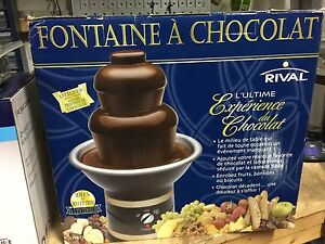 New Chocolate fountain Rival