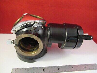 Carl Zeiss Germany Pol Vertical Illuminator Nosepiece Microscope Part 13-35