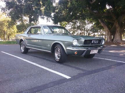 66 Mustang Coupe Greenslopes Brisbane South West Preview