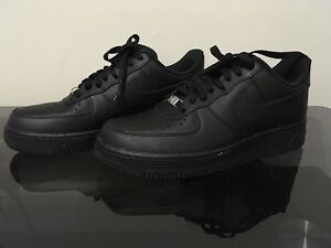 New Air Force Ones Size 8.5 Black