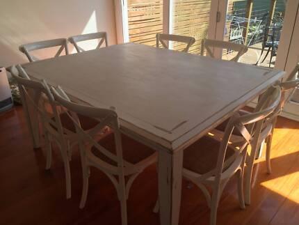 Dining table and chairs - Mosman Mosman Mosman Area Preview