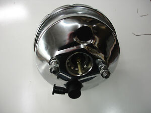1964 1965 1966 ford mustang chrome brake booster