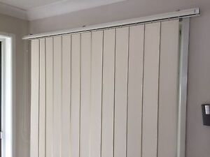 3.8meter vertical blinds, cream, FREE - need repair Eight Mile Plains Brisbane South West Preview