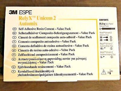 3m Espe 56857 Relyx - Unicem 2 Automix Value Triple Pack A3 - Super Fresh