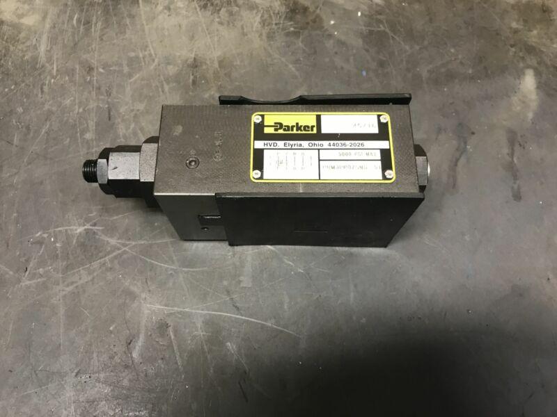 Parker Prm3PP07SNS Hydraulic Reducing Pressure Relief Valve