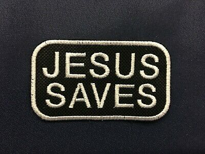 JESUS SAVES PATCH JESUS CHRIST SAVES SPREAD THE GOOD NEWS PATCH 3.00