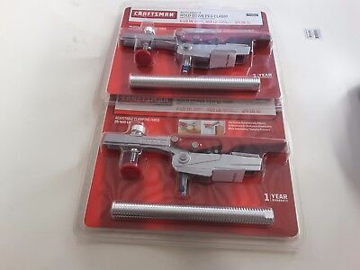 2X) CRAFTSMAN CLAMPS Shop Carpenter Tool Kitchen Cabinet Remodel wood working for sale  South Gate