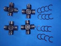 Set of 4 Rear Axle U-Joints 2003-2008 Kubota RTV 900