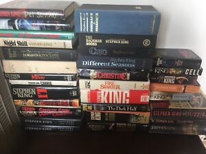 Hard cover Stephen King books for sale !