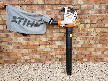 STIHL ELECTRIC VACUM SHREDDER.