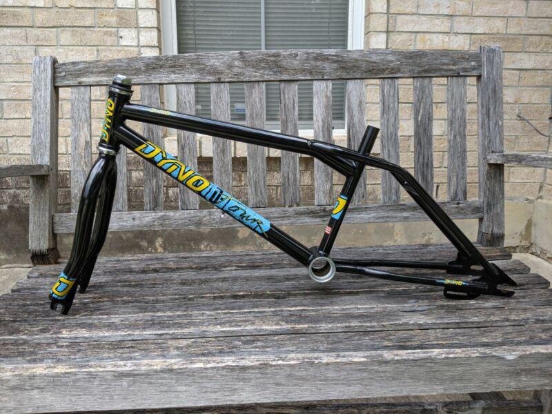 1987 Dyno Detour, DTour, Compe, Frame And Forks Set, Old School BMX Freestyle
