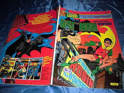 BATMAN und Robin , 4. Sonderausgabe , ehapa Comics 1984 , DC COMIC Superhelden