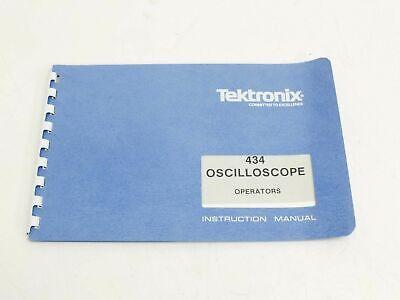 Tektronix 434 Instruction Manual 070-1131-00