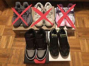 NIKE & ADIDAS HEAT SNEAKERS FOR SALE
