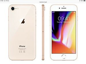 iPhone 8 Gold 64G (BELL)