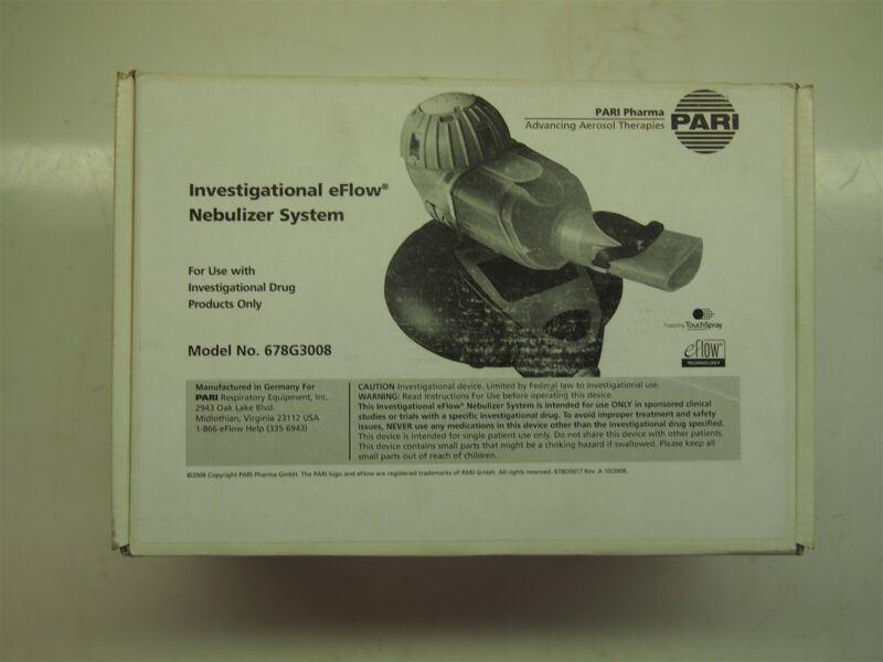 Pari Pharma Investigational eFlow 678G3008