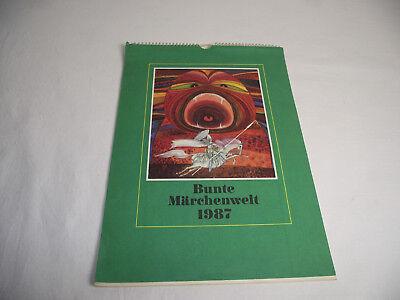 Märchenkalender 1987 aus der DDR (Märchen Kalender)
