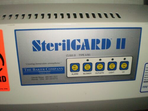 The Baker Company SterilGARD II 6 foot BIOLOGICAL SAFETY CABINET hood