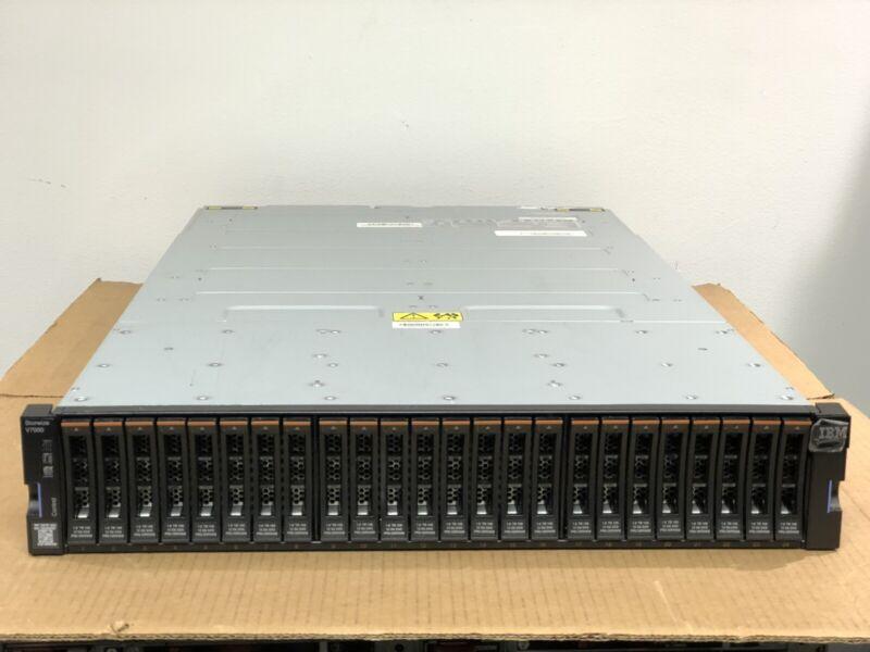 IBM Storwize V7000 Gen2 24x 1.8TB 10k Dual Nodes 64GB 8Gb FC 2x PSU Rails 24x G2