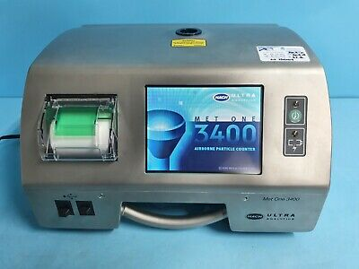Hach 3423 Ultra Met One 3400 Series Portable Airborne Particle Counter