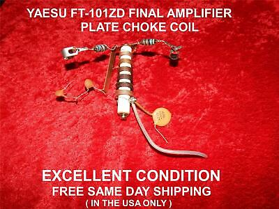 Used, YAESU FT-101ZD FINAL AMPLIFIER PLATE CHOKE COIL EXCELLENT CONDITION for sale  Hudson
