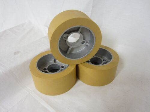 Rubber Power Feeder Roller Wheels (RO-12) Set of 3 for most 1HP Feeders