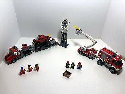 LEGO City LOT: Fire Utility Truck 60111 + Monster Truck Transporter 60027