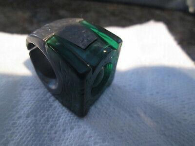 GREEN LANTERN DC COMICS HARD PLASTIC RING VGC