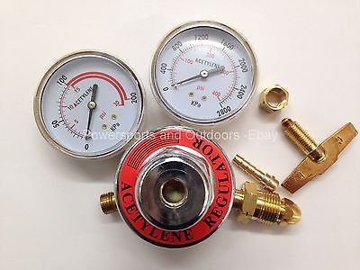 Acetylene Regulator 2-58 Gauges For Welding Cbb-01409 Best Buy
