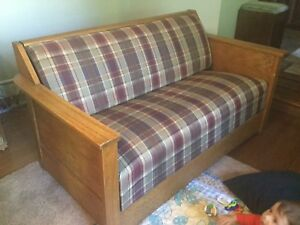*Lower price* Oak hid-a-bed