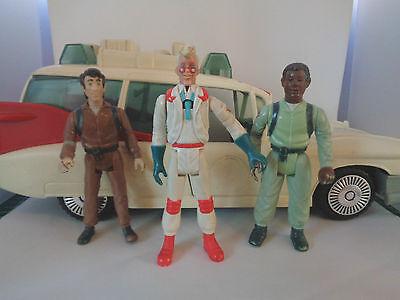 Ghostbusters, Ecto 1 & drei Figuren