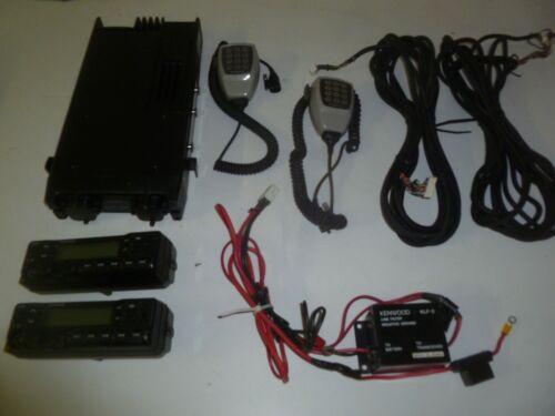 Kenwood TK-790H DUAL REMOTE HEAD 148-174 MHz VHF 110 Watt Two Way Radio gd318