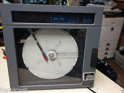 Fischer Porter 4-pen Chart Recorder 1390