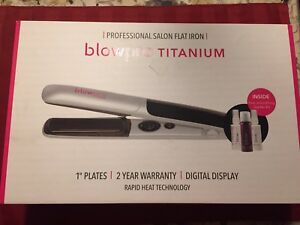 Blowpro titanium hair straightener