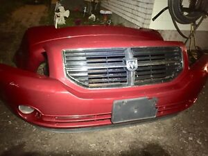 Dodge Caliber front and rear bumper cover with fog lights