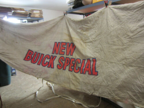 "Vintage ""New Buick Special"" Car Dealers Advertising Canvas Car Cover/Tarp"