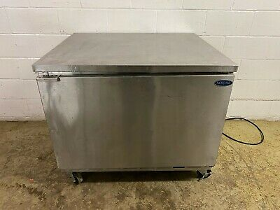 Norlake Undercounter Work Top Preptable Freezer On Casters 115 Volts Tested