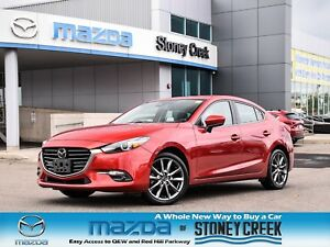 2018 Mazda Mazda3 GT Nav Leather Heated Seats Bose Rear Cam