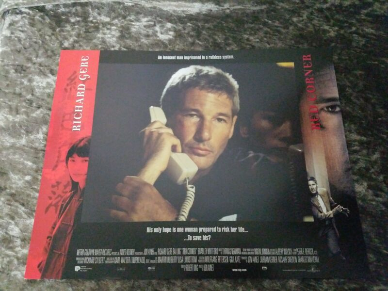 Red Corner lobby cards - Richard Gere - Set of 8