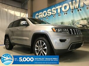 2018 Jeep Grand Cherokee Limited with Sunroof & Navigation V6