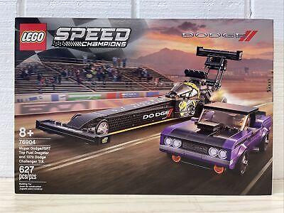 LEGO Speed Champions 76904 Mopar Dodge SRT Top Fuel Dragster & 1979 Challenger