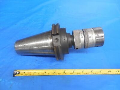 Tecnara Cat50 Tool Holder 150-801-2 With Kyushukogu Tecnara Boring Head S-50n
