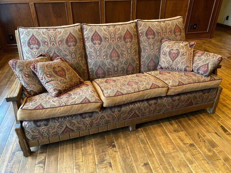 A.	Brandt Ranch Oak Couch