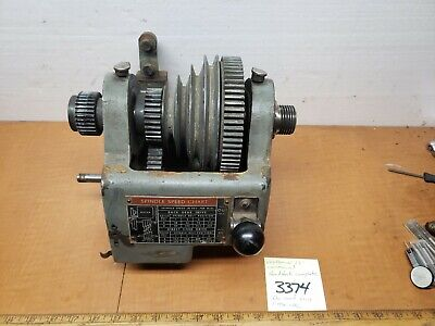Craftsman Commercial Lathe 12 Headstock Complete