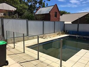 Solid glass pool face 18 1/2m Strathalbyn Alexandrina Area Preview