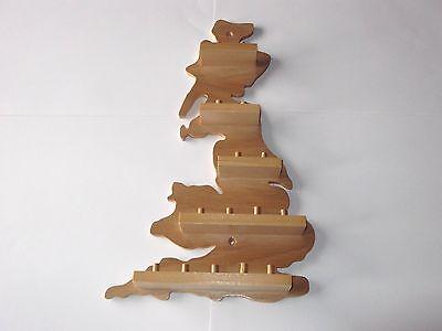 15pc G.B. Wooden Thimble Display Rack ( Pine ) ( huge range - see list )