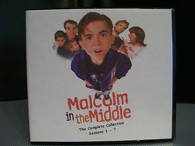 Malcolm In The Middle Complete Tv Sitcom 22 Dvd 7 Season Set  Us   Ca R1