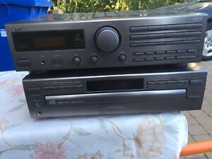 JVC Amplifier and 5 disc CD player
