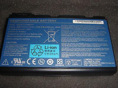 original battery Acer Acer Extensa 198.2oz 5210 5220 5620Z TM00741 TM00751 NEW